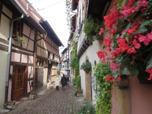 village in rural Alsace, France