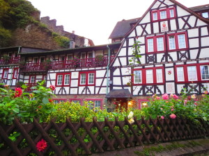 Charming village in Germany's Rhineland.