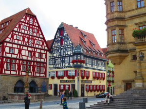 Medieval town of Rothenburg, Germany. One of my favorite places.