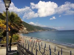 Cinque Terre in the Italian Riviera.