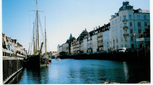 Copenhagen, Denmark. A stately old trading city.